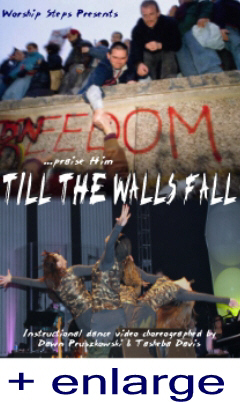 Praise Dance Instruction Video - Till the Walls Fall